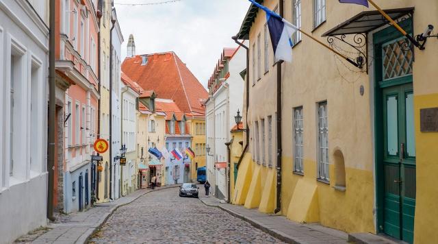 Таллин осенний романтичный