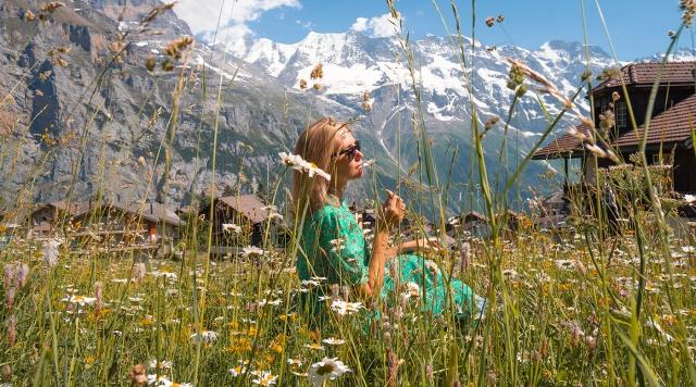 Лето в Швейцарии. Кантон Берн