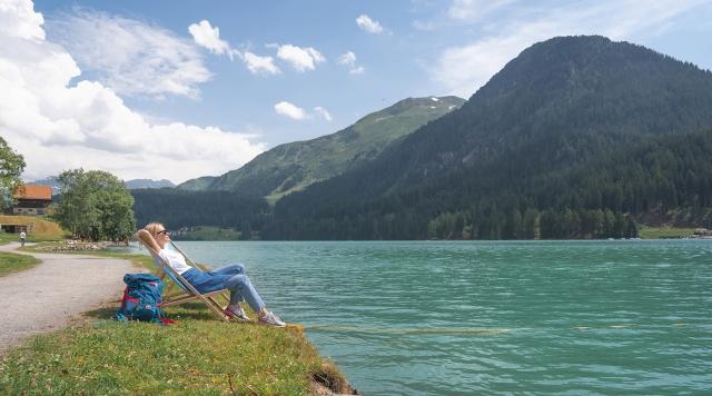 Лето в Швейцарии. Граубюнден